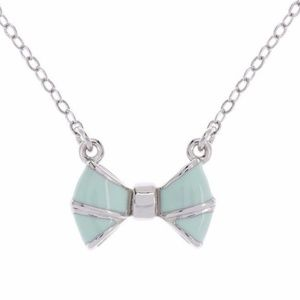 Ted Baker Mint Baby Bow Necklace